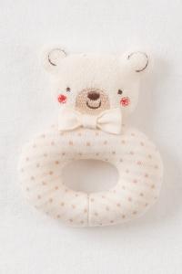 Amorosa Mamma-手搖鈴-白色小熊