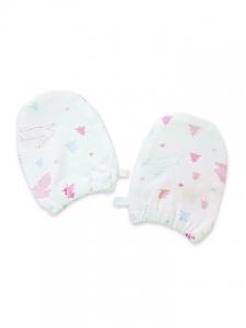 Deux Filles 嬰兒手套-兔子印花