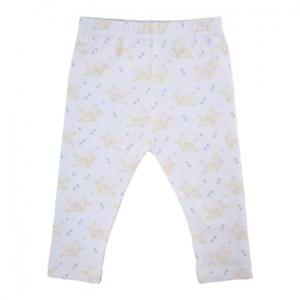 Deux Filles有機棉貼腿褲 -紙鶴