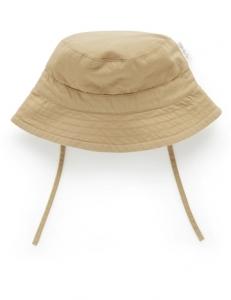 Purebaby 有機棉遮陽帽  -卡其色