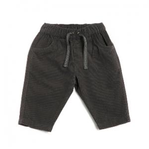 Purebaby有機棉男童休閒褲-深灰色