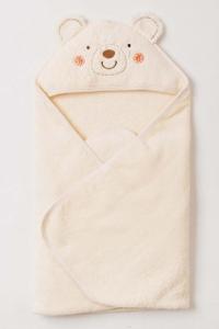 妖精之森-嬰兒無撚糸包巾-小熊