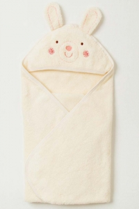 妖精之森-嬰兒無撚糸包巾-小兔
