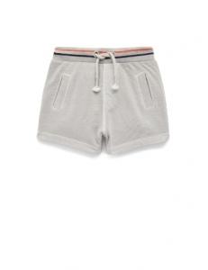 Purebaby 有機棉短褲-灰色
