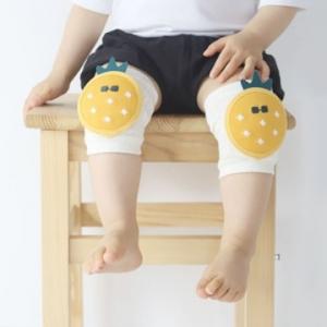 Merebe嬰童學爬學步護膝墊-鳳梨團案