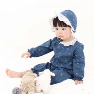 Merebe連身裝-藍色星星