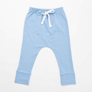 Deux Filles有機棉舒棉褲-天空藍