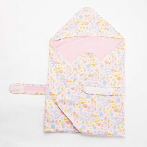 Deux Filles有機棉包巾-蝴蝶圖案