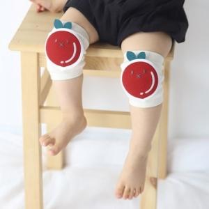 Merebe嬰童學爬學步護膝墊-蘋果