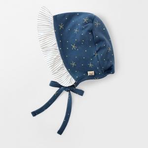 Merebe嬰兒嬰兒帽-星星印花