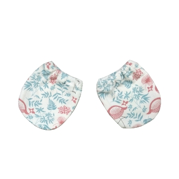 Deux Filles 有機棉新生兒手套