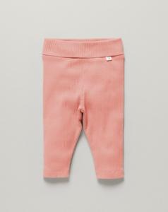 澳洲Little Green & Co有機棉棉褲-桃色粉
