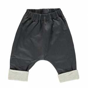 Bebobio 有機棉鋪棉瑜珈褲-灰褐色