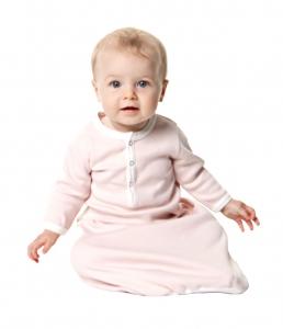 kate quinn有機棉睡袍-淡粉紅