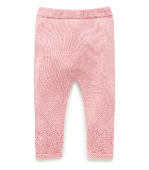 Purebaby  有機棉針織貼腿褲